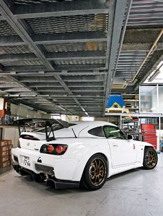 Spoon inspired Honda S2000 from the garage of menswarehouseonline.com