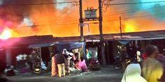 Seputar Berita Indonesia: Kebakaran di pasar Delima Indrapura tewaskan satu ...