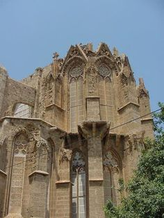 Ruins of church in Famagusta, Cyprus