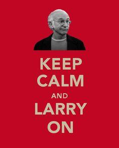 Love Larry David! So terrifically awkward!!:)