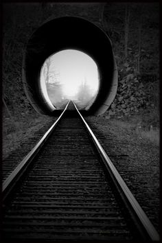 Train tracks...