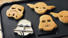 Star Wars Heroes & Villains Pancake Molds