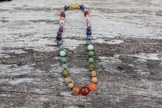 Hey, I found this really awesome Etsy listing at https://www.etsy.com/listing/483896780/rainbow-chakra-multi-crystal-gemstone