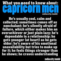 Zodiac City What you need to know about Capricorn men