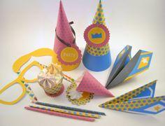 Faschingsdekoration / carnival decoration by I DO PROYECT via DaWanda.com