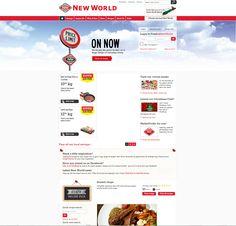 New world website
