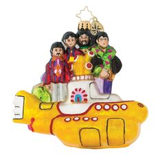 George John Paul Ringo NWT Radko Beatles Yellow Submarine Set