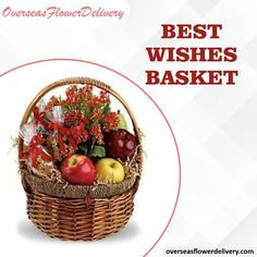 Kalanchoe plants with fruit and nuts. This product will be unavailable in many countries over the weekend and on Mondays. Please order this basket at least 2 days before the delivery date. #bestwishes #basket #flowers #fruits #gift #surprise #bestwishesbasket #kalanchoeplants #nuts Flower Delivery Service, Mondays, Countries, Basket, Fruit, Flowers, Gift, Plants, Plant