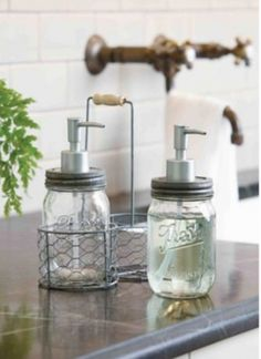 Superb Give Your Kitchen Or Bathroom A Kitschy Cabin Feel With Our Glass Preserves  Jar Soap And