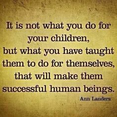 Inspirational Motto 104 Learning is great, but to give and to teach others is so critical.