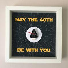 Star Wars 40th Birthday Minifigure Frame