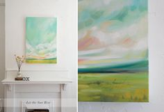 """""""Find A Sunnier Place"""" Oil Landscape Painting by Emily Jeffords"""