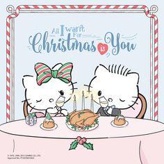 All I want for Christmas is you ♪(*^^)o∀*∀o(^^*)♪ #HelloKitty #DearDaniel