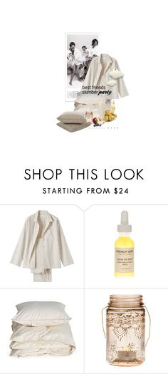 """""""Une Affaire De Filles / A Girls Thing"""" by halfmoonrun ❤ liked on Polyvore featuring Toast, French Girl, Aiayu, Cultural Intrigue, Sunbrella and slumberparty"""