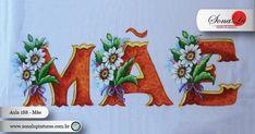 Blog para distribuição gratuita de riscos de pintura em tecido e emborrachado utilizados nas aulas do canal Sonalu Pinturas. Diy And Crafts, Rose, Paintings, Country, Blog, Custom Paint, Quit Drinking, Mushroom Drawing, Sewing Aprons