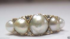 A personal favorite from my Etsy shop https://www.etsy.com/listing/278089968/antique-art-deco-pearl-diamond-yellow