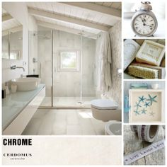 #Chrome #White #bathroom #design   #floor #wall #madeinitaly #madeincerdomus #porcelaintiles #love #newday #goodmorning #rituals #architecture #home #homedesign #homedecor #living #create #inspiration #beautifulplaces #cerdomus #cerdomusceramiche #tiles #digital #design #style #carreaux #piastrelle #shabby #color #shabbychic #chic #light #window #roof