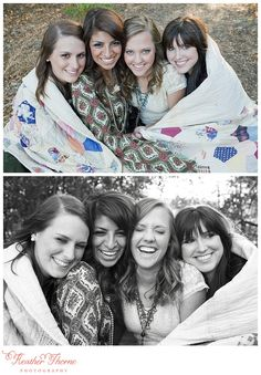 senior girl photography posing ideas #photography {best friend senior session idea}