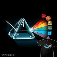 Dice Prism | Shirtoid #dice #prism #roleplaying #rpg #valevfkff #vallina84