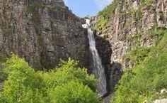 n dit Nationaal Park vindt u ook de hoogste waterval van Zweden, Njupekär.