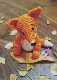 Woodland Fox traditional hand crocheted soft toy Amigurumi #ad #Etsy #fox #crochet