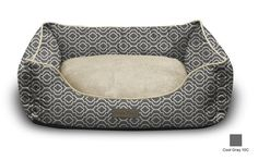 Modern Chic Trellis Cat or Dog Bed by Trendy Pet | All-in-One Design in Many Colors and Sizes to Fit any Pet and Home | Thick, Bolstered Ultra-Soft Microfiber | Easy-to-Clean, 100% Machine Washable, Tumble Dry ** You can get additional details at the image link.