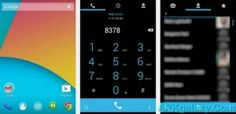 ThyrusHolo KIT KAT Black Theme v6.4 Apk Full Download