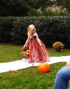 Autumn ~ one of the flower girls