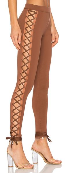 Lacing Legging by Fenty by Puma. 62% viscose 33% nylon 5% elastane. Elastic stretch fit. Lace-up sides with tie closures. FENR-WP3. 57429502. Wanting ...