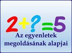 Az egyenletek megoldásának alapjai - Tanulj könnyen! Company Logo, Logos, Logo