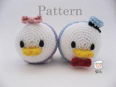 Tsum Tsum Amigurumi Pattern Free : Pin by chiêu firefly crochet on amigurumi animals toys others