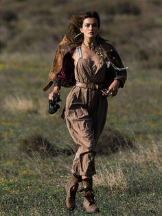 """A L'Aventure"" Andreea Diaconu for Vogue Paris June/July 2016"