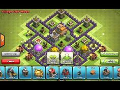 Clash of Clans Strategy: Trophy Bases Layout Town Hall, Clash Of Clans, Layout Design, Youtube, Youtubers, Youtube Movies