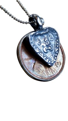 Penny From My Heart Necklace.