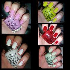 nailpolishrox: OPI swatches Opi, Swatch, Nail Polish, Nails, Beauty, Finger Nails, Ongles, Nail Polishes, Manicure