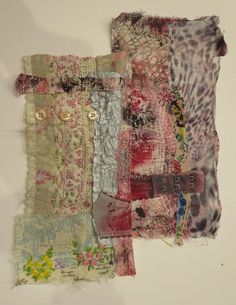 ' Hands on, experimental with a strong emphasis on using found materials  and inventive applications of textile and mixed media processes a...