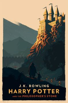 """supersonicart: """" Olly Moss's Harry Potter. Olly Moss surprised everyone and is currently doing a timed release of these new, official, Harry Potter illustrations. Harry Potter Poster, Harry Potter Audio Books, Images Harry Potter, Harry Potter Book Covers, Arte Do Harry Potter, Harry Potter World, Rowling Harry Potter, Ghibli, Harry Potter Ilustraciones"""