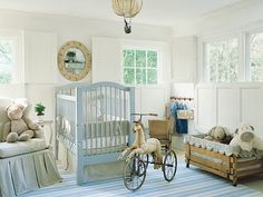 vintage themed baby nursery #decor #infant #bedding
