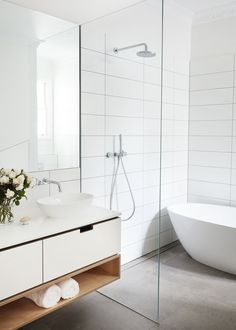 In addition to our kitchens, we also offer joinery solutions for bathrooms, laundries, living spaces and bedrooms drawn from the palette and detail of your projects' kitchen. Bedroom Drawing, Toilet, Living Spaces, House Design, Mirror, Street, Furniture, Bathing Beauties, Bathroom Ideas