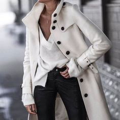 Moda Jeans Casual Chic 36 Ideas For 2019 Looks Chic, Looks Style, Fashion Mode, Look Fashion, Fall Fashion, White Fashion, Cheap Fashion, High Class Fashion, Dress Fashion