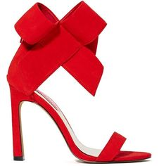 Betsey has always been one of our favorites, and these red heels (along with those perfect party dresses) are why. They have a slightly flared stiletto heel, a…