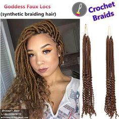 Ideas Braids Updo Hairstyles For Black Women Faux Locs Ideas Braids Updo Hairstyles For Blac Box Braids Hairstyles, Curly Hair Braids, Goddess Hairstyles, My Hairstyle, Dreadlock Hairstyles, Twist Hairstyles, Protective Hairstyles, Curly Crochet Hair Styles, Curly Hair Styles