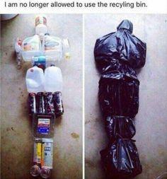 Spaß mit Müll
