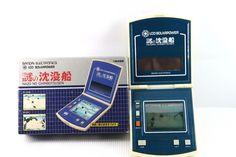 Bandai LCD Handheld Game Solar Power Nazo No Chinbotsusen Boxed MIJ -RARE!- F/S #Bandai Game & Watch, Solar Power, Nintendo Consoles, Hold On, Games, Ebay, Design, Solar Energy, Naruto Sad