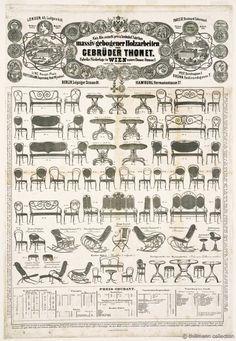 Thonet .Catálogo de asientos.. #Esmadeco.