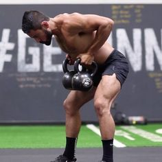 "437 Me gusta, 11 comentarios - Eric Leija (@primal.swoledier) en Instagram: ""Try this Kettlebell Complex out during your next workout! - 5 Bent Over Row - 3 Row to Clean - 1…"""
