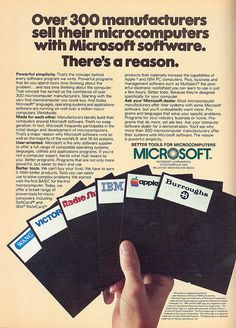 Vintage Computers and Software Ads of the (Page Microsoft Software, Tracking Software, Old Computers, Desktop Computers, Gaming Computer, Computer Science, Vintage Advertisements, Vintage Ads, Retro Aesthetic