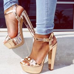 Wear these stylish heels with a dress for the perfect trendy look