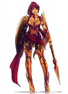 Pyrrha new armor