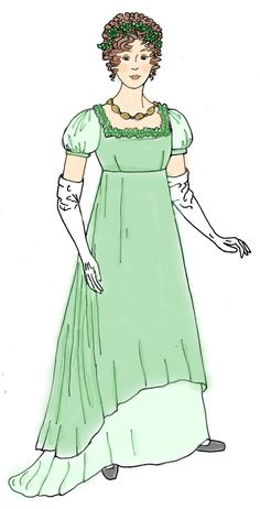 Jane Austen Regency Dress   So many combinations! Recreat your favorite Jane Austen characters or ...